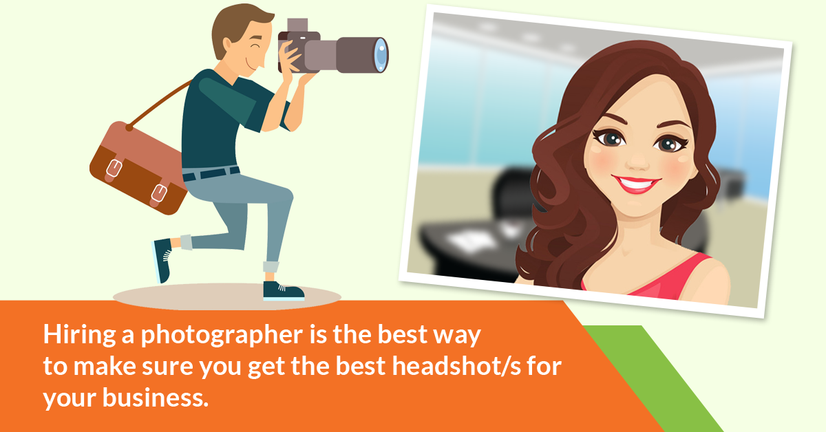 business headshot tips