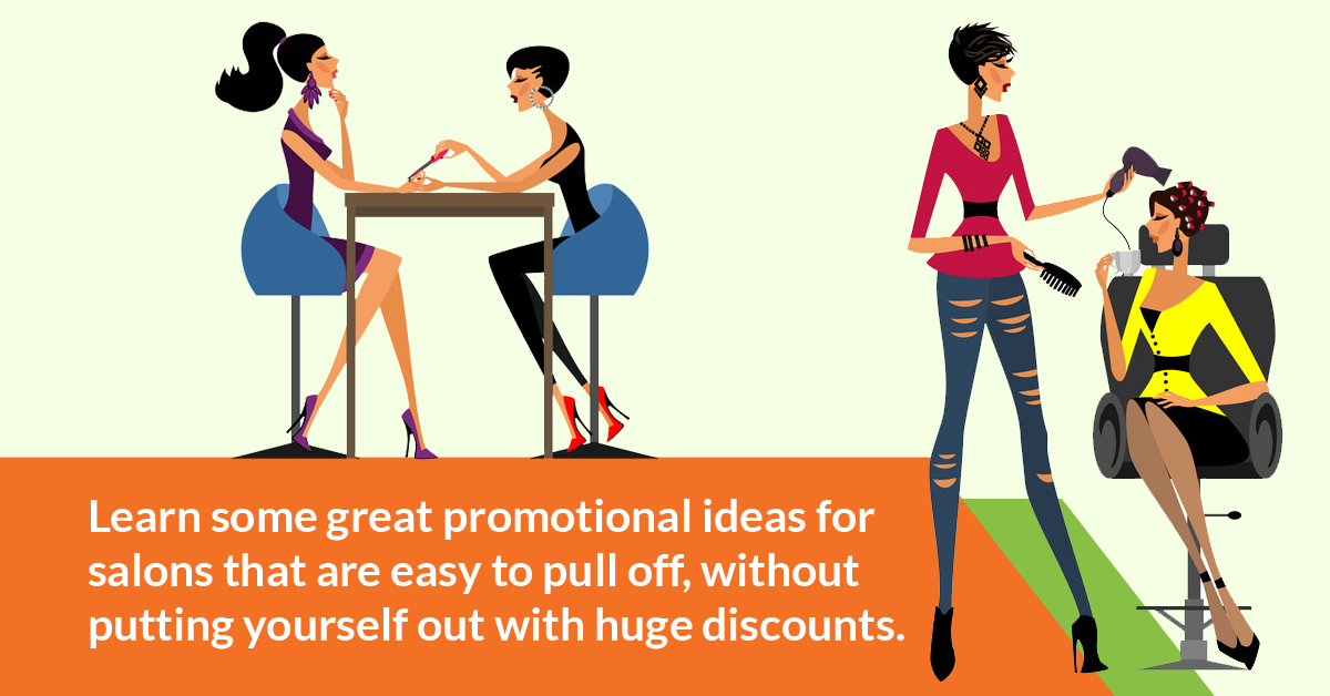 promotional ideas for salons