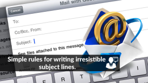 How to write email subject lines that get opened.