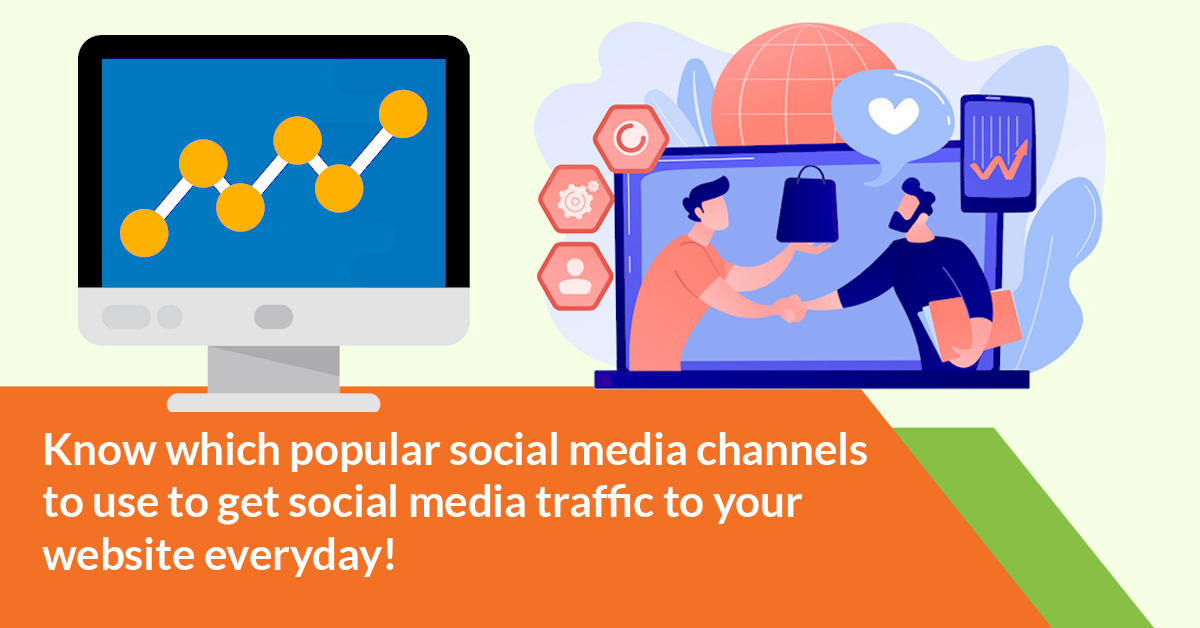 social media traffic to your website