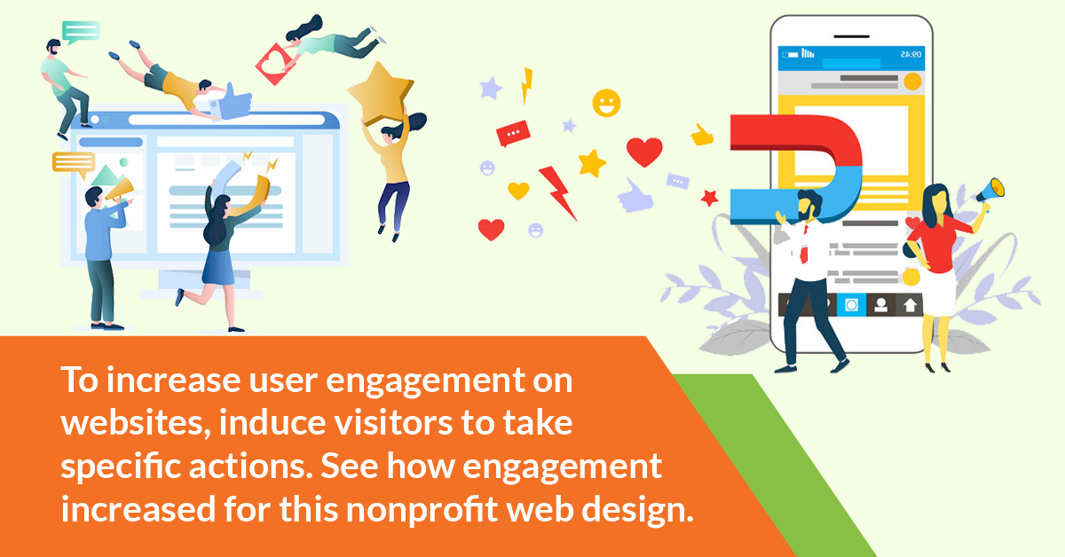 increase user engagement on websites